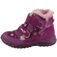 Chaussures Enfant Baskets montantes Superfit Glacier Rose, Violet