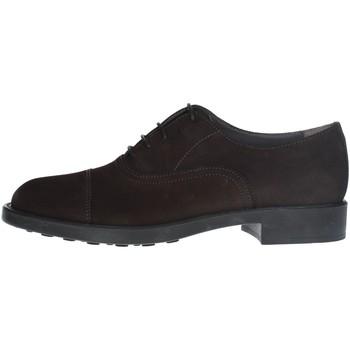 Chaussures Homme Derbies Antica Cuoieria 20343 CHAUSSURES À LACETS homme MARRON MARRON
