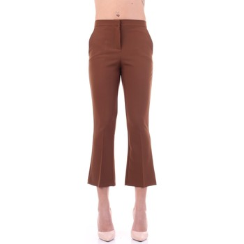 Vêtements Femme Pantalons de costume Angela Davis EG71 le tabac