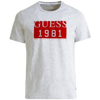 Vêtements Homme T-shirts manches courtes Guess T-Shirt Homme M94I48 Roots Gris (rft) Gris