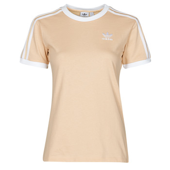 Vêtements Femme T-shirts manches courtes adidas Originals 3 STRIPES TEE Orange