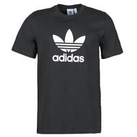 Vêtements Homme T-shirts manches courtes adidas Originals TREFOIL T-SHIRT Noir