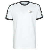 Vêtements Homme T-shirts manches courtes adidas Originals 3-STRIPES TEE Blanc