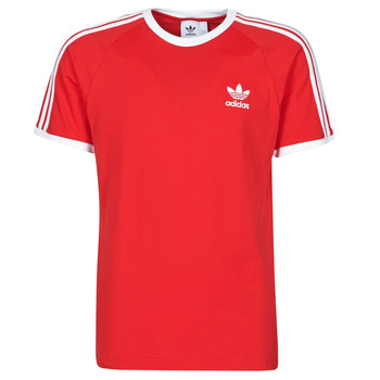 Vêtements Homme T-shirts manches courtes adidas Originals 3-STRIPES TEE Rouge