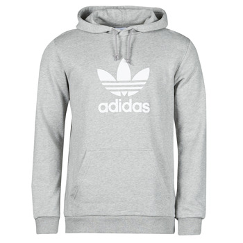 Vêtements Homme Sweats adidas Originals TREFOIL HOODIE Gris