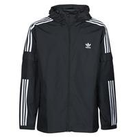 Vêtements Homme Coupes vent adidas Originals 3-STRIPES WB FZ Noir