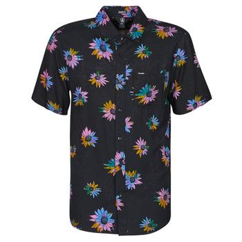 Vêtements Homme Chemises manches courtes Volcom PLEASURE CRUISE S/S Noir