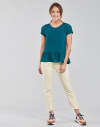 Vêtements Femme Jeans droit Lee CAROL Ecru