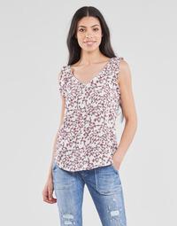 Vêtements Femme Tops / Blouses Le Temps des Cerises ALEKSA Blanc