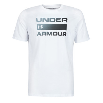 Vêtements Homme T-shirts manches courtes Under Armour UA TEAM ISSUE WORDMARK SS Blanc