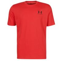 Vêtements Homme T-shirts manches courtes Under Armour UA SPORTSTYLE LC SS Rouge