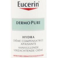 Beauté Hydratants & nourrissants Eucerin Dermopure Hydra Crema Calmante Compensadora  50 ml