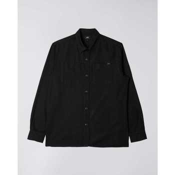 Vêtements Homme Chemises manches longues Edwin Chemise  Fannar noir