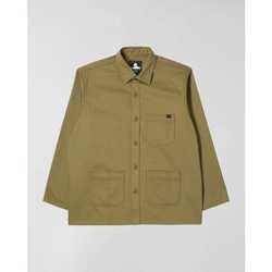 Vêtements Homme Chemises manches longues Edwin Chemise  Major olive
