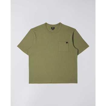 Vêtements Homme T-shirts manches courtes Edwin T-shirt  Oversized vert kaki