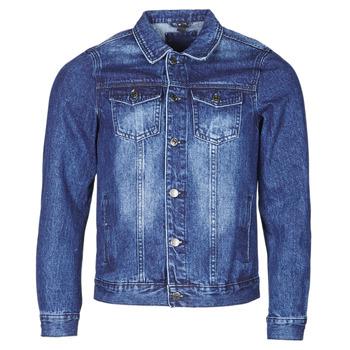 Vêtements Homme Vestes en jean Yurban OPSI Bleu medium