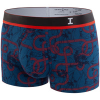 Sous-vêtements Homme Boxers I Am What I Wear Boxer moderne en coton modal I am Passionate Bleu