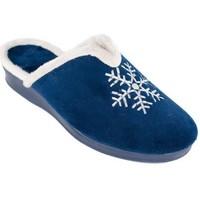 Chaussures Femme Chaussons Cbp - Conbuenpie  Bleu