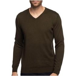 Vêtements Homme Pulls Shilton Pull mélange coton cashmire CITY Vert