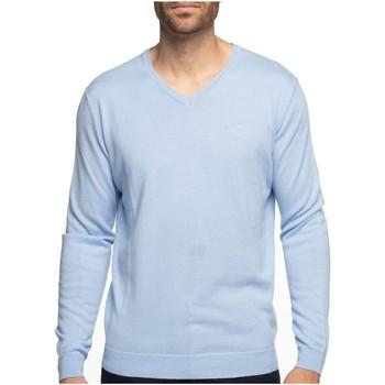 Vêtements Homme Pulls Shilton Pull mélange coton cashmire CITY Bleu ciel