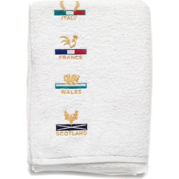 Maison & Déco Homme Serviettes de plage Shilton Drap de bain 6 nations Blanc
