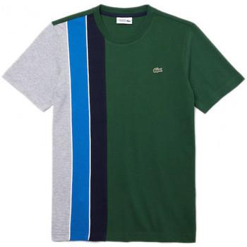 Vêtements Homme T-shirts manches courtes Lacoste Tee-shirt Vert