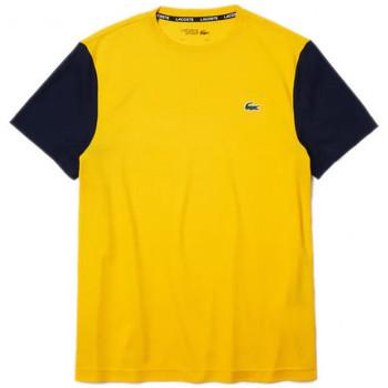 Vêtements Homme T-shirts manches courtes Lacoste Tee-shirt Jaune
