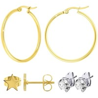 Montres & Bijoux Femme Boucles d'oreilles Sc Bohème B0000+B2261-DORE+B2320-DORE+E000 Doré