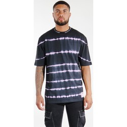 Vêtements Homme T-shirts & Polos Sixth June T-shirt  Tie & Dye noir/violet