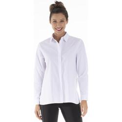 Vêtements Femme Chemises / Chemisiers Gerard Pasquier Chemise col chemise ANDREA Blanc