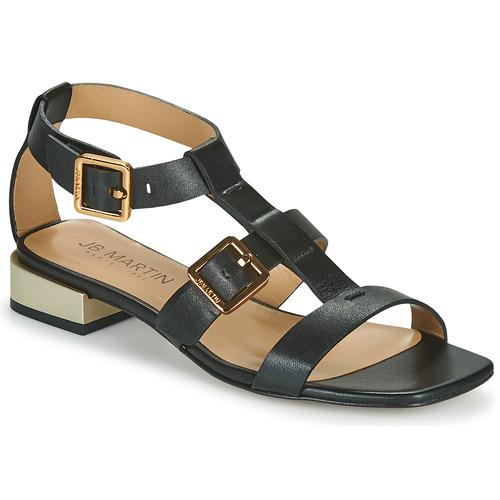 Chaussures Femme Sandales et Nu-pieds JB Martin HARIA Noir