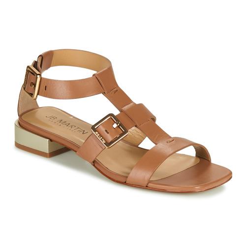 Chaussures Femme Sandales et Nu-pieds JB Martin HARIA Marron