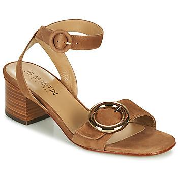 Chaussures Femme Sandales et Nu-pieds JB Martin OLAK Marron
