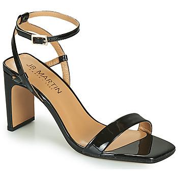 Chaussures Femme Sandales et Nu-pieds JB Martin 1DITA Noir