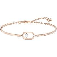 Montres & Bijoux Femme Bracelets Swarovski Bracelet jonc  North pavé ovale rosé M Rose