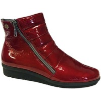 Chaussures Femme Bottines Inea Banal Rouge