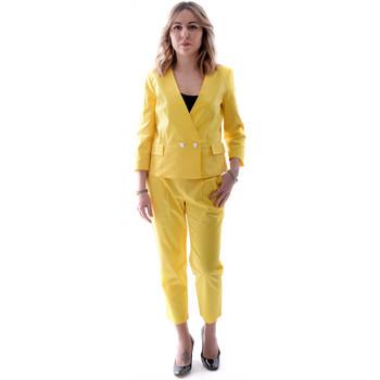 Vêtements Femme Costumes  Fracomina FR20SP090 Jaune