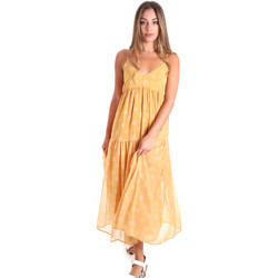 Vêtements Femme Robes longues Fracomina FR20SMLINDA Jaune