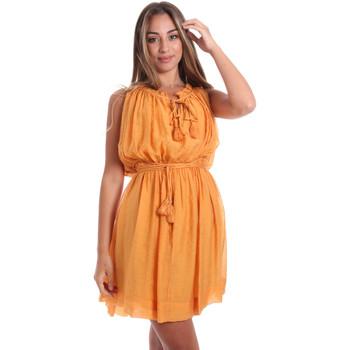 Vêtements Femme Robes courtes Fracomina FR20SMANA Jaune