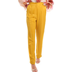Vêtements Femme Pantalons Fracomina FR20SM649 Jaune