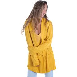 Vêtements Femme Vestes / Blazers Fracomina FR20SM648 Jaune