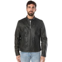 Vêtements Homme Vestes en cuir / synthétiques Daytona GAFINO SHEEP TWIX D/OLIVE Vert foncé