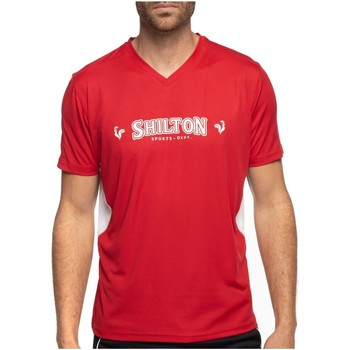 Vêtements Homme T-shirts manches courtes Shilton T-shirt sport col v Rouge