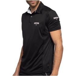 Vêtements Homme Polos manches courtes Shilton Polo training sport dept Noir