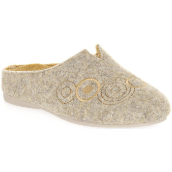 Chaussures Femme Chaussons Emanuela 1527 GIALLO DOU Giallo