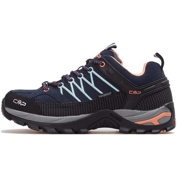 Chaussures Femme Running / trail Cmp Rigel Wmn WP Noir, Gris, Bleu marine