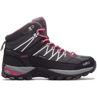 Chaussures Femme Baskets montantes Cmp Rigel Mid Wmn WP Gris, Rose, Graphite