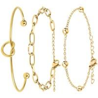 Comment faire un retour Femme Bracelets Sc Bohème B2112-DORE+B2369-DORE+B2371-DORE Doré
