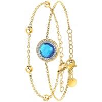 Montres & Bijoux Femme Bracelets Sc Bohème B2125-BLEU+B2371-DORE Doré
