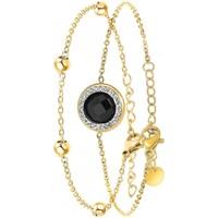 Montres & Bijoux Femme Bracelets Sc Bohème B2125-NOIR+B2371-DORE Doré